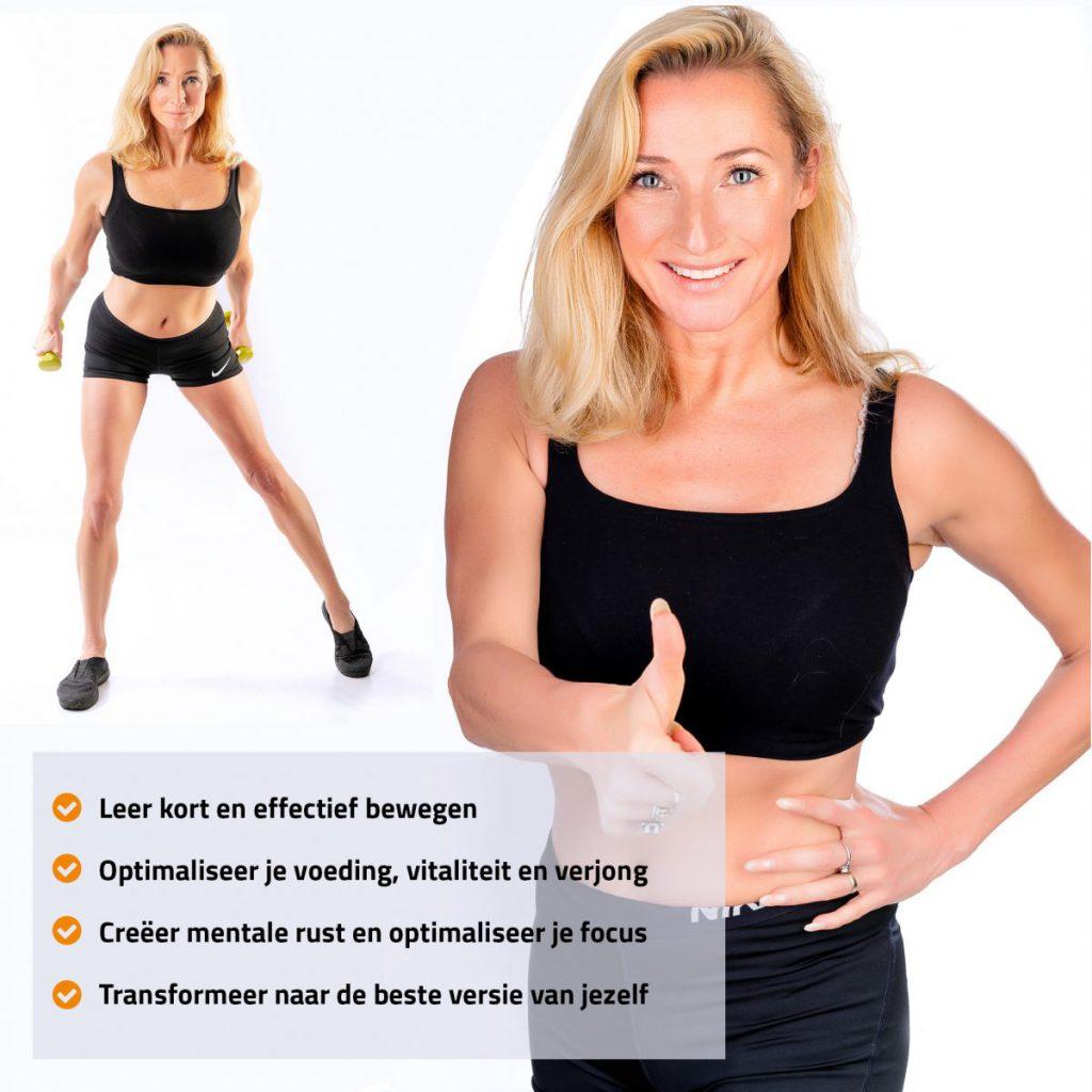 Iboya is een personal trainer in Amsterdam